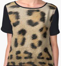 Leopard Pattern Background - Rosette of Beautiful Wonder Chiffon Top