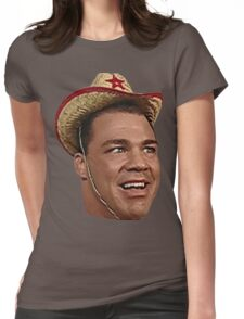 Cowboy Kurt! Womens Fitted T-Shirt