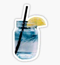 Mason Jar Water Sticker