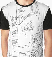 Beverly Hills Hotel Graphic T-Shirt