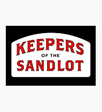 the sandlot Photographic Print