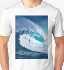 Wave and Surfer Unisex T-Shirt