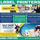 Zebra Printers by Thermal Transfer Labels