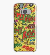 wacky phone cases and skins Samsung Galaxy Case/Skin
