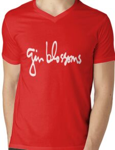 GB Logo Mens V-Neck T-Shirt