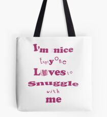 Snuggle ~ Tiny Sweet Mice Line Tasche