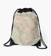 Africa 1909 Drawstring Bag