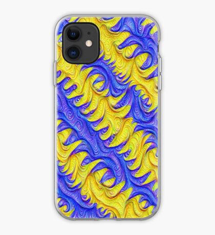Frozen frequencies #DeepDream #Art iPhone Case