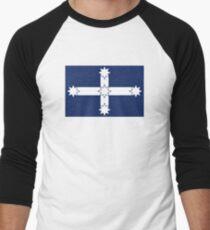 Eureka Stockade Flag Men's Baseball ¾ T-Shirt