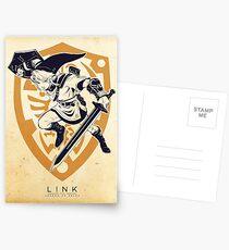 The Legend of Zelda - Link Postcards