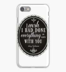 Everything On Earth iPhone Case/Skin
