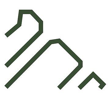 WipEout Pulse Style Triakis Logo by takeshino