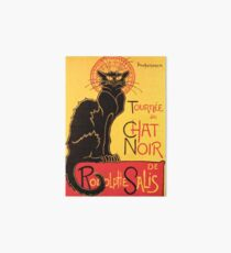 Le Chat Noir Vintage Poster Art Board