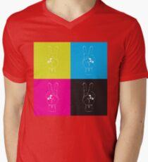 Peace Out Mens V-Neck T-Shirt
