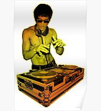 Bruce Lee DJ Poster