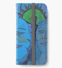 shadows of the past iPhone Wallet/Case/Skin
