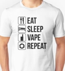 EAT SLEEP VAPE REPEAT T-Shirt