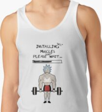 Rick and Morty. Installing muscles. Tank Top