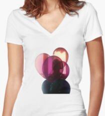 The Weeknd - Thursday Women's Fitted V-Neck T-Shirt