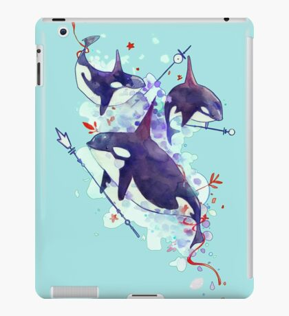 Sea queens iPad Case/Skin