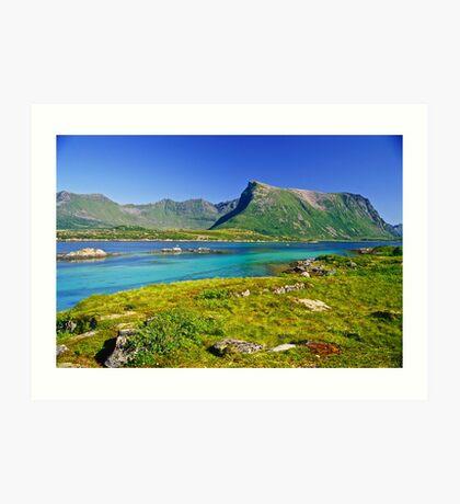 The Magic of Colors  -  Lofoten Islands . Norway . by Brown Sugar . Favorites: 2 Views: 507 . Thank you !!!!   dziękuję !!! Art Print
