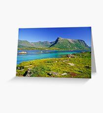 The Magic of Colors  -  Lofoten Islands . Norway . by Brown Sugar . Favorites: 2 Views: 507 . Thank you !!!!   dziękuję !!! Greeting Card