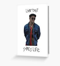 Livin' That Snipes Life Greeting Card