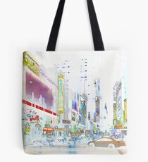 NYC Theaters Tote Bag