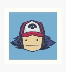 Ash - Pokemon Art Print