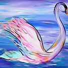 Whimsical Swan by cathyjacobs