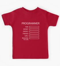 Programmer Stats Kids Clothes