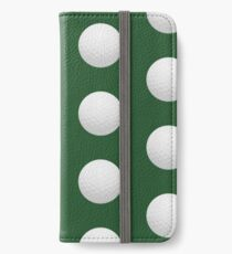 Golf Ball iPhone Wallet/Case/Skin