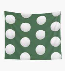 Golf Ball Wall Tapestry