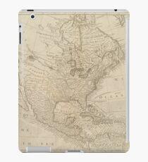 North America 1745 iPad Case/Skin