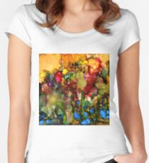 In My Sister's Garden Women's Fitted Scoop T-Shirt