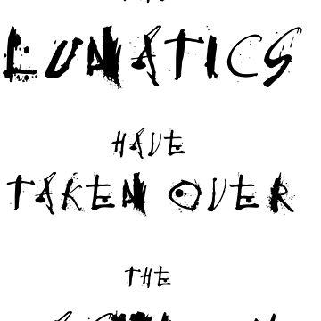 The lunatics are here by quietmole