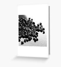 Don't Spill The Beans I Greeting Card