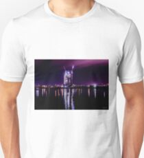Victoria Harbour, Melbourne Docklands at night, Victoria, Australia. Unisex T-Shirt