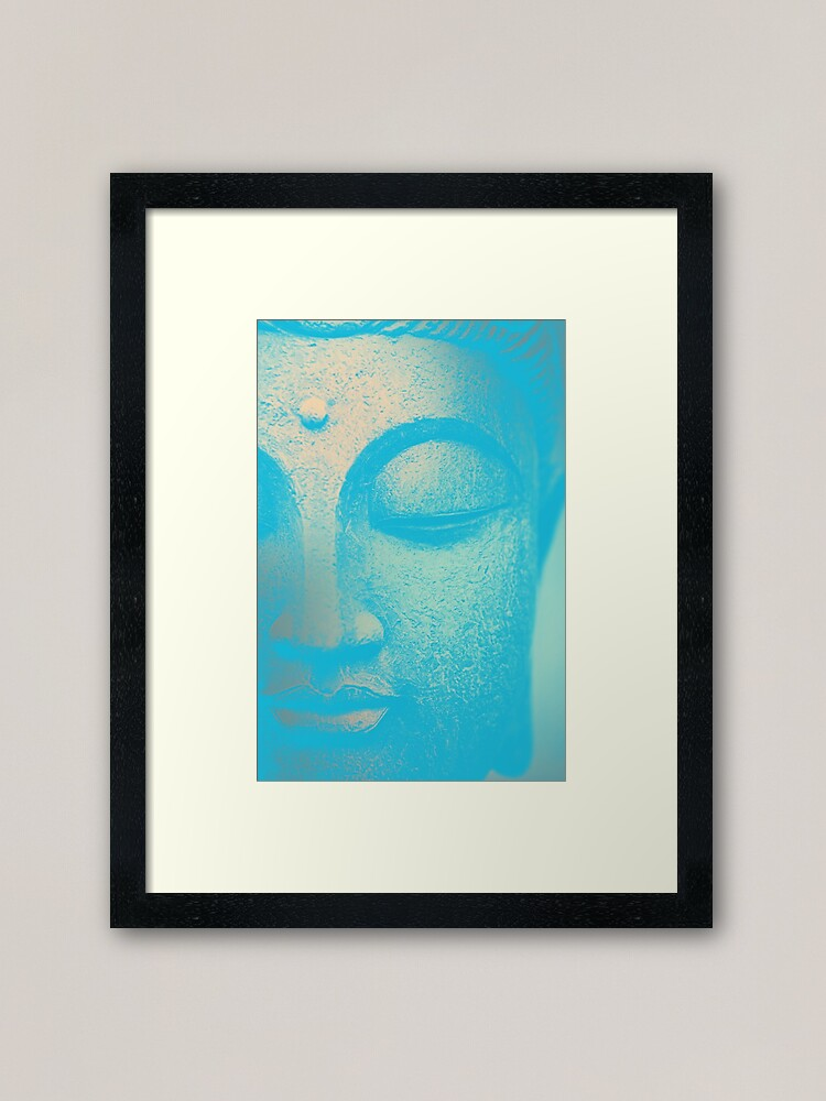 Alternate view of Buhdda II Framed Art Print