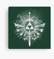 Triforce Crest Canvas Print