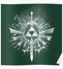 Triforce Crest Poster