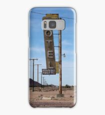 Motel Sign Samsung Galaxy Case/Skin