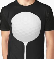 Golf Ball on Tee Graphic T-Shirt