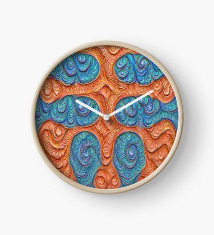 No person #DeepDream #Art Clock