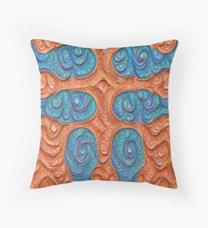 No person #DeepDream #Art Throw Pillow