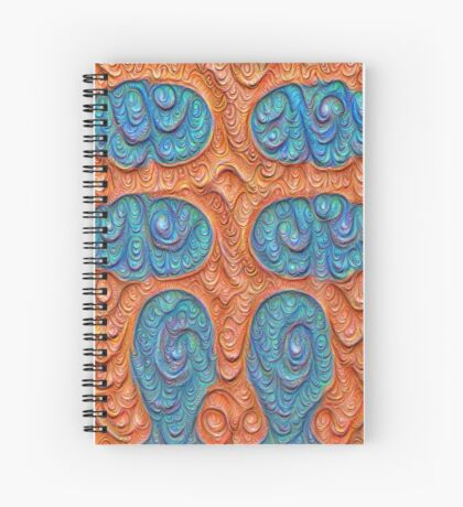 No person #DeepDream #Art Spiral Notebook