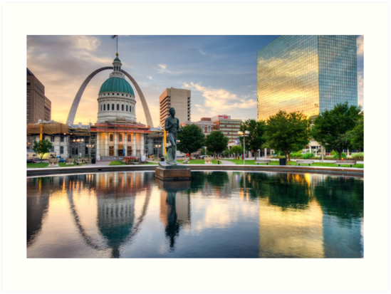 St. Louis Reflections by Gregory Ballos
