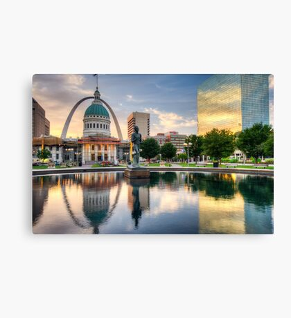 St. Louis Reflections Canvas Print