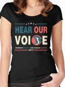 WOMEN'S MARCH SHIRT Women's Fitted Scoop T-Shirt