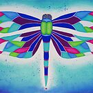 Dragonfly Over Water by Mystichare
